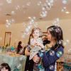 Kids Party Hire, bubble maker machine for rent